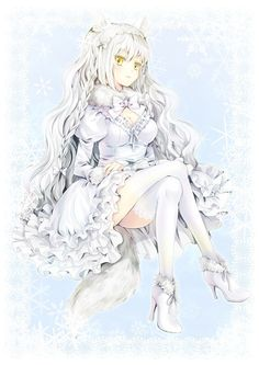 fox arctic anime haired hair neko otaku tokyo mode illustrations website magic manga gaia