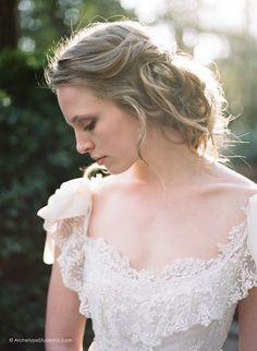 Photography: Koby & Elizabeth Brown, KobyBrown.com | Swan House in Atlanta, GA | Historic Venue Wedding | Vintage Lace Wedding Gown | Manor House Wedding | Makeup: Valerie Gernhauser | Hair: Terilyn Brown | Models: Nicole & Tyler Gatlin
