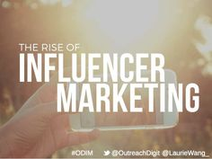 The Rise of Influencer Marketing: What is influencer marketing and what it means in the current media landscape