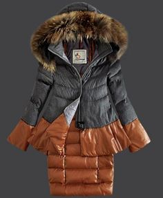 a1c9b9dd893e Moncler Miwako Down Coats Womens Hooded Gray  moncler  coat  woman  gray
