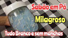 MISTURA MILAGROSA COM SABÃO EM PÓ