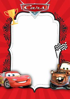Aiden is Turning one Happy Birthday Frame, Happy Birthday Wallpaper, Birthday Frames, Happy Birthday Images, Disney Cars Party, Disney Cars Birthday, Car Themed Parties, Cars Birthday Parties, Lightning Mcqueen Party