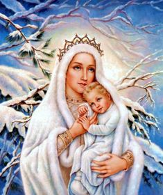 ♛ Our Lady of Snow