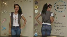 Aprenda a fazer molde de colete com Alana Santos Blogger