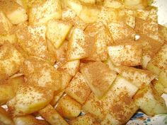 Caramel Apple Bread Pudding w/ Rum Sauce