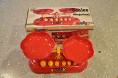 Smoby Childs TOY Scales Balance Retro in Camberwell, VIC | eBay