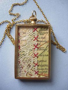 sweet vintage pendant