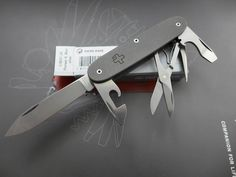ALM / Victorinox Titanium Pioneer Mod. Just beautiful!