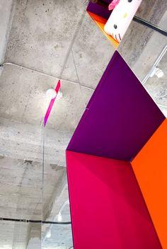Jean Verville, Montreal, 2011 #architecture #interiors #colors