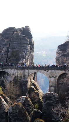 Bastei Bridge, Germa