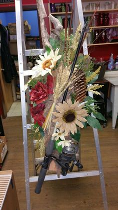 This Arrangement Was Made For The Funeral Of A Gentleman