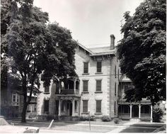 This large stone house at 515 West Washington Street was once home to early Sandusky businessman William T. Townsend and his family.