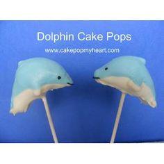 Dolphin Cake Pops