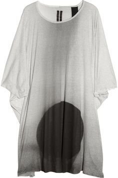 DRKSHDW BY RICK OWENS Oversized printed jersey T-shirt