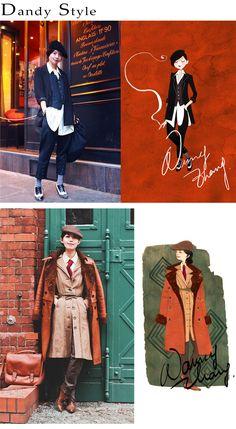 Fashion Illustrations | Nancy Zhang – The Sea of Fertility