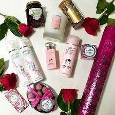 Today is the final day of #rosecelebration! If you want to win this rose hamper follow us and like this post, good luck! T&Cs LizEarle.co/1kjaTeR #BE20 #