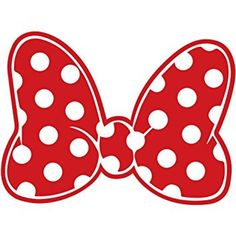 Minnie Mouse Polka Dot Bow Walt Disney Land World Decal Sticker Car Truck Window Laptop Die Cut Vinyl Select Color/Size Minnie Mouse Shirts, Mickey Y Minnie, Mickey Minnie Mouse, Minnie Mouse Cricut Ideas, Disney Decals, Disney Bows, Vinyl Crafts, Vinyl Projects, Minnie Maus Silhouette