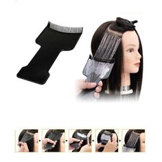 Hair Coloring Comb Long Board DIY Hairdressing Tint Brush Salon Tool Style New #Unbranded