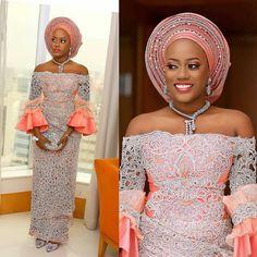 aso ebi fashion African Wear, African Attire, African Fashion Dresses, African Dress, African Clothes, Nigerian Fashion, Traditional Wedding Attire, African Traditional Wedding, Traditional Outfits