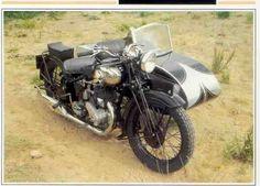 Ariel type VA  - Moto Passion - Moto Collection François-Marie Dumas