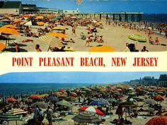 Beach Town, Beach Club, Ocean Grove Beach, Princeton New Jersey, Point Pleasant Beach, Bradley Beach, Beach Boardwalk, Months In A Year, Travel Posters