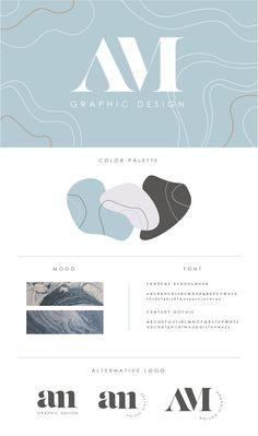 Amanda Marie | Personal Branding on Behance Marca Personal, Personal Logo, Personal Branding, Personal Cards Design, Luxury Logo Design, Web Design, P Logo Design, Brand Identity Design, Branding Design
