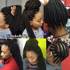 """4,421 Likes, 182 Comments - ProtectiveStyles (@protectivestyles) on Instagram: """"Bold, Trending Protective Styles for this Spring/Summer ‼️ Follow @StylezByKey Traveling Braider…"""""""