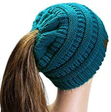 In you can learn how to loom knit a ponytail hat using your 41 peg Knifty  Knitter loom and some thick yarn used with needles. dc7214b8eee