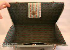 More book purse ideas - I like her side panel crease idea