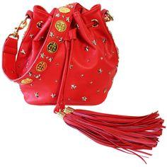 Red Coin Bucket Bag – NYLON SHOP