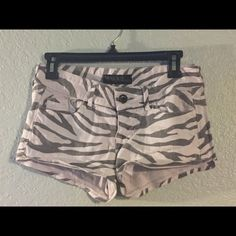Zebra Print Guess Shorts Guess denim shorts 98% cotton Guess Jeans Casual Shorts, Denim Shorts, Jeans, Guess Bags, Zebra Print, Purses, Cotton, Women, Fashion