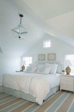 coastal bedroom by Elena Phillips Interiors