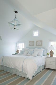 coastal bedroom by Elena Phillips Interiors