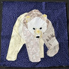 polar bear paper piecing patterns | Each one of these talented sewist contributed to the pattern in a ...
