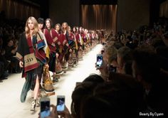 Burberry Prorsum Autumn Winter Fashion Show in London Fashion Week Burberry Prorsum, Blanket Poncho, Wool Poncho, Fashion Week, Fashion Show, Fashion 2015, Latest Fashion, Burberry Poncho, Autumn Winter Fashion