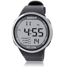 XONIX Fashion Men Sports Watches Waterproof 100m Outdoor Fun Digital Watch Swimming Diving Wristwatch Reloj Hombre Montre Homme Like it?  #shop #beauty #Woman's fashion #Products #Watch