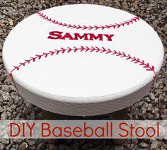 DIY Baseball Stool 650x584 DIY Baseball Stool