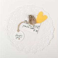 """""""Herzensgruss"""" 135x135mm inkl. Couvert (Zellophaniert) #Grusskarte #Glückwunschkarte #Karte Claudia Itten Bluehouse Karten"""