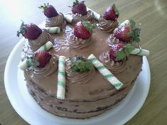 Torta mousse de chocolate para festejar el día del niño 2016