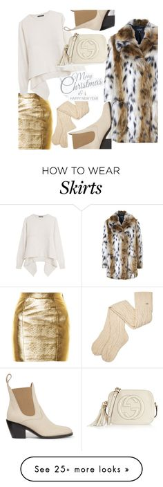 """""""Merry Christmas Everyone....(please read) 😘"""" by hattie4palmerstone on Polyvore featuring Topshop, Yves Saint Laurent, Alexander McQueen, UGG, Chloé and Gucci"""