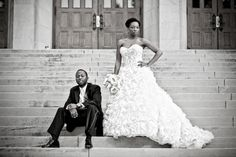 Real {Liberian} Wedding in North Carolina: Cathy + Zam - Munaluchi Bridal Magazine