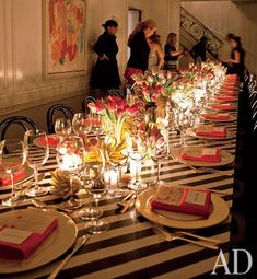 Party Liner : Architecture + Design : Architectural Digest