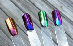 Video: How to get the Smoothest Metallic Finish with Duo Chrome Pigments – Ten Little Canvases
