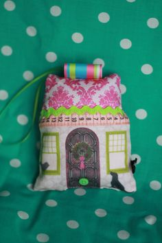 Lavender scented house pillow by rubylane13 on Etsy, $10.00