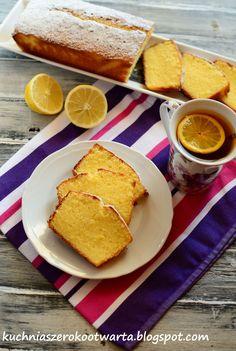 Kuchnia szeroko otwarta: Ciasto cytrynowe
