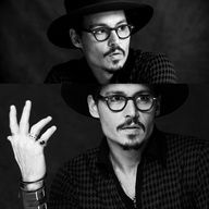 Johnny Depp with glasses. need more?