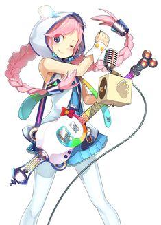 Anime, Girl, Vocaloid, Rana