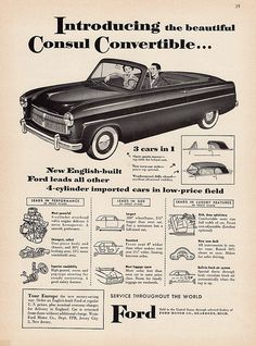 1954 English Ford Consul Convertible | by aldenjewell
