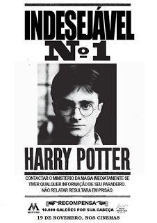 O mundo e a magia de Harry Potter: imprima seus cartazes de procurado                                                                                                                                                                                 Mais