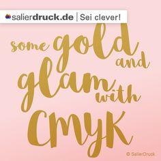 Gold und Glamour mit CMYK - SalierBlog
